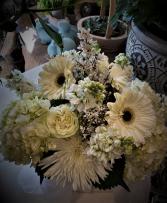 Simply White Floral Arrangement