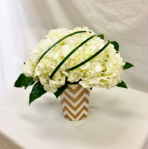 Simply White Fresh Floral Design