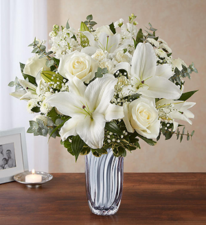 Sincere Radiance Sympathy Arrangement in Croton On Hudson, NY | Cooke's Little Shoppe Of Flowers