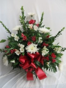 Sincere Sentiments Fresh Funeral Basket