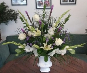 Sincere Sentiments Sympathy Arrangement in Bluffton, SC | BERKELEY FLOWERS & GIFTS