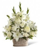 Sincere Sympathy Basket Arrangement