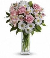 Sincerely Yours Bouquet Vase Arrangement
