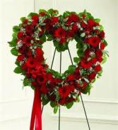 Sincerest Hearts Wreath Arrangement