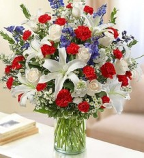 Sincerest Sorrow - Red, White and Blue sympathy