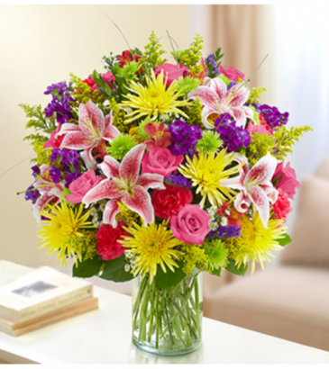 Sincerest Sorrow - Multicolor Bright Sympathy Arrangement