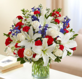 Sincerest Sorrow - Red, White and Blue Arrangement