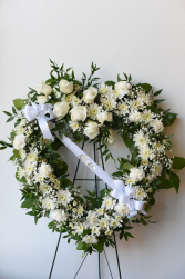 Sincerest Sympathy Heart Wreath