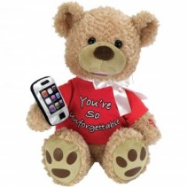Singing Bear Unforgettable  Musical Singing Teddy Bear