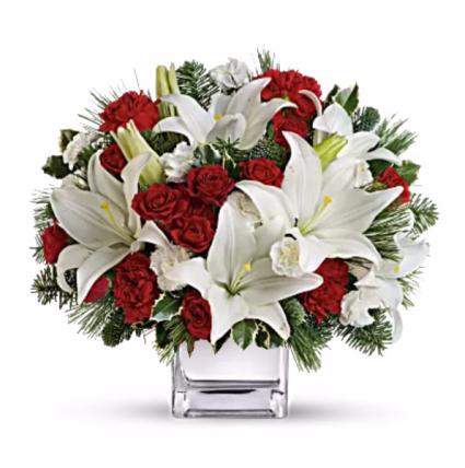 Singing Carols Cube Vase In Redlands Ca Redlands Bouquet Florist