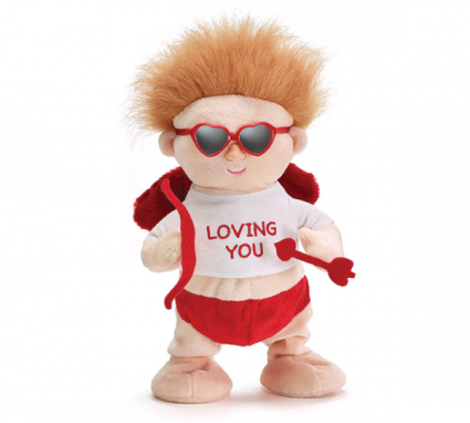 Singing Cupid Plush Valentine's Day