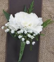 Simpleton Carnation Boutonniere