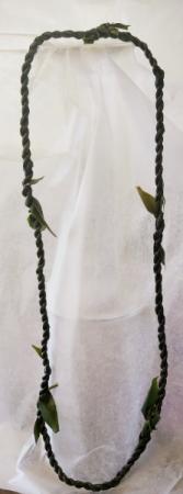 Single Hilo weave Ti Leaf Lei