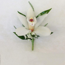 Single Orchid Boutonniere