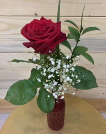 Single Rose Vased