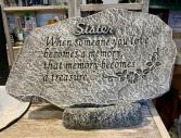 Sister Memorial Stone Memorial Stone