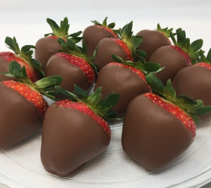 Milk Chocolate Covered Strawberries Available for Valentine's  in Plainview, TX | Kan Del's Floral, Candles & Gifts