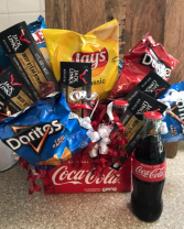 Six Pack Snack Basket Gifts