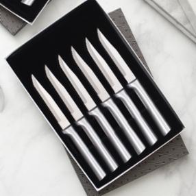 Six Serrated Steak Knives Gift Set S6S
