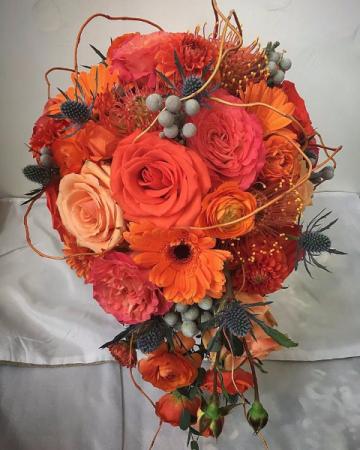 Sizzling Romance Bridal Bouquet