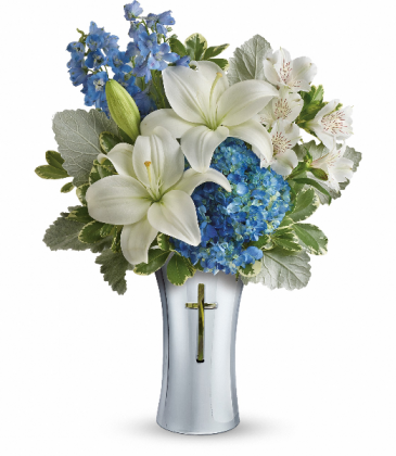 Skies Of Remembrance Bouquet T278-1A Teleflora's