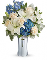 Skies of Remembrance Funeral Bouquet