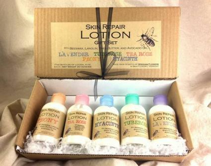 Skin Repair Lotion Gift Set  Handmade Lotion