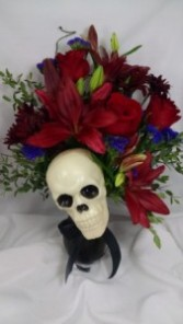 Spooky Skull Creation Halloween, Home