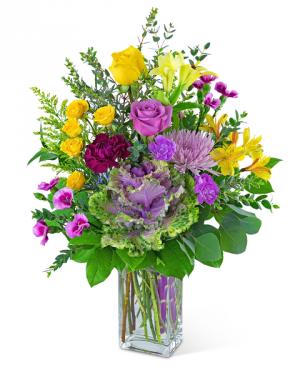 Skylark Song Flower Arrangement in Nevada, IA   Flower Bed