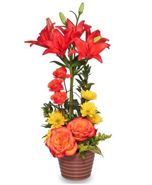 SKY'S THE LIMIT Fresh Flowers in Franklin, WI | The Laurel Wreath LLC