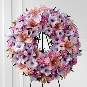 Sleep in Peace Wreath Standing Wreath in Las Vegas, NV | Blooming Memory