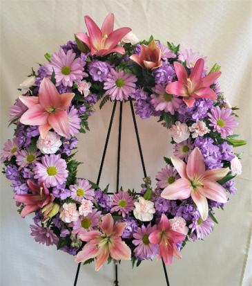 Sleep in Peace Wreath Wreath