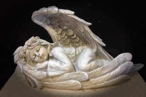 Sleeping Angel   in Fowlerville, MI | ALETA'S FLOWER SHOP