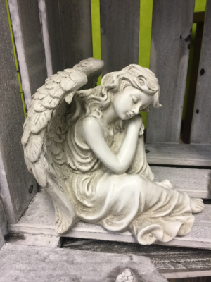 Sleeping Angel Angel in Milton, FL | PURPLE TULIP FLORIST INC.