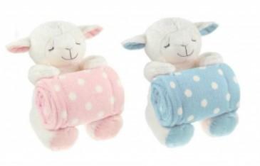 Sleepy Time Lamb Blue Or Pink Gifts In Webster Tx La Mariposa