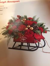 Sleigh Bouquet FRESH FLOWER ARRANGEMENT