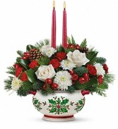 Christmas* Holly Days Centerpiece Christmas