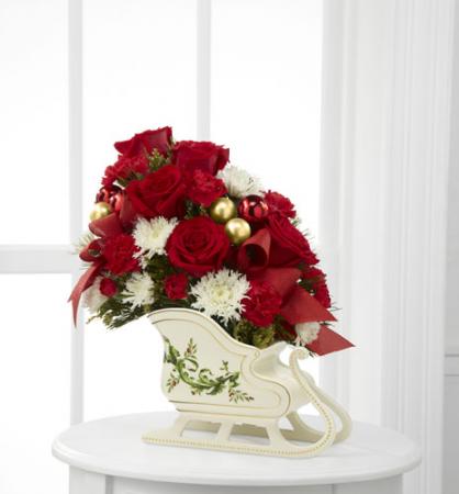 Sleigh Ride Flowers - 14-C4