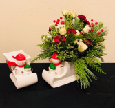 Sleigh Ride Keepsake Arrangement