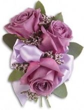 Small 3 Rose Corsage corsage