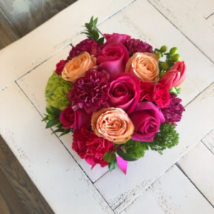 Summer Fruits Flower Box Arrangement Assorted Flowers in Sparta, NJ | Bluet Flower Co.