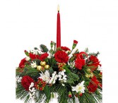 Small Centerpiece Fresh Christmas