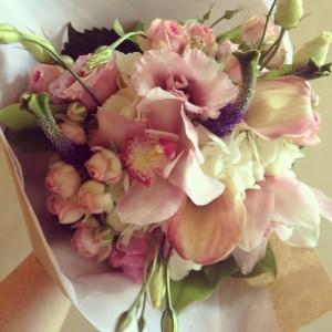 Chique Botanique Small Handtied Bouquet