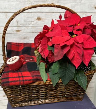 Small Christmas Basket Gift