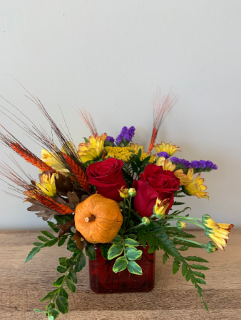 Small Fall Harvest  Arrangement