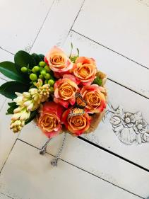 Small Flower Box Arrangement Assorted Flowers