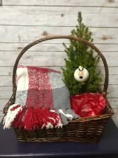 Small Christmas Basket Gift