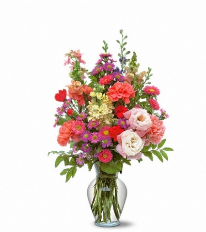 Small Mixed Vase Arrangement Floral Arrangement