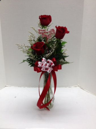 small rose vase Vase Arrangement
