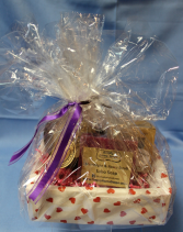 Small Simply Home Spa Basket Valentine's Day